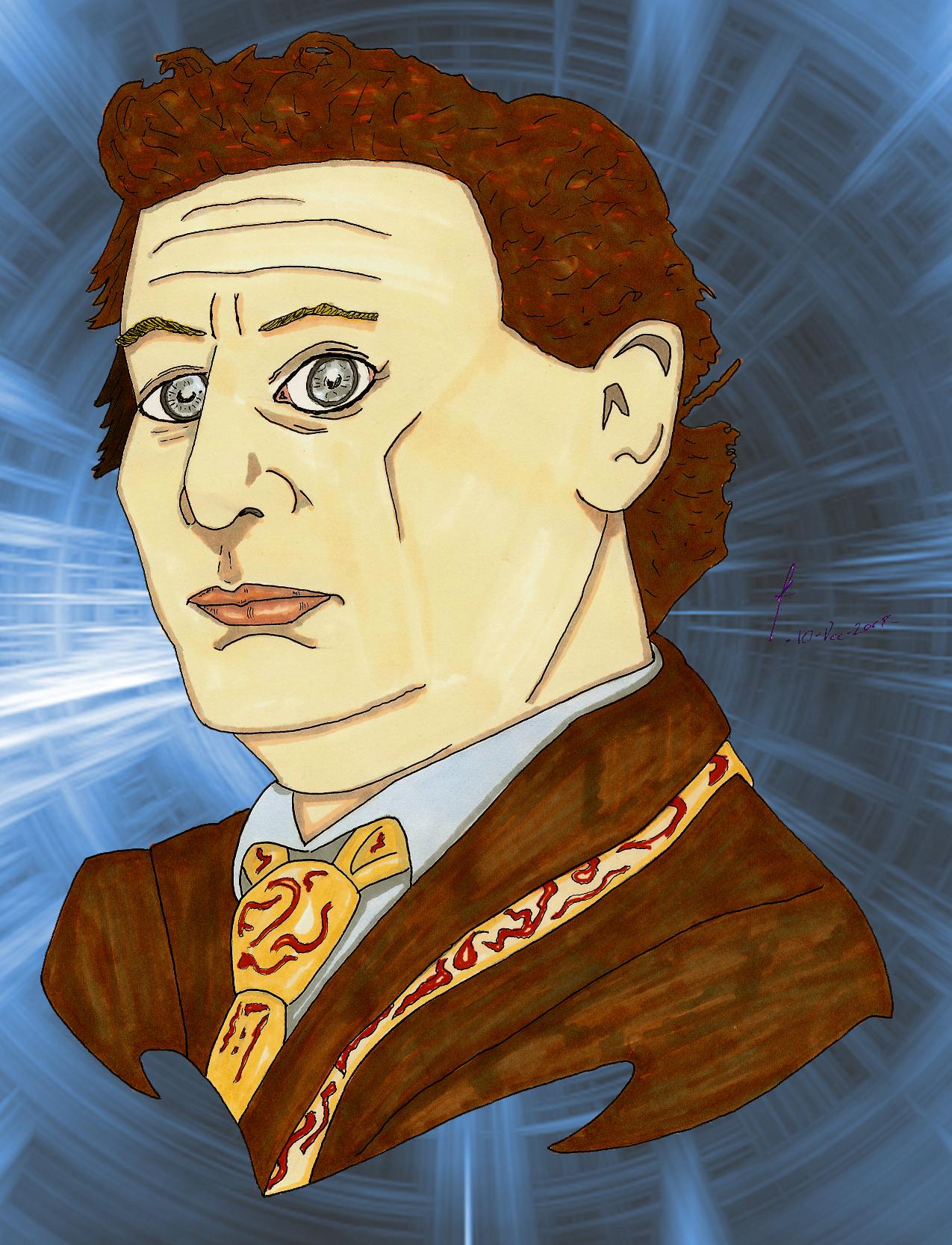 Sylvester McCoy Portrait