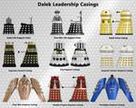 Dalek Leadership Casings