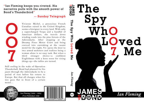 The Spy Who Loved Me Cover Design