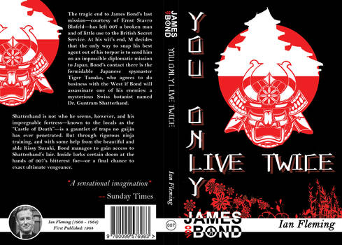 You Only Live Twice Cover Design