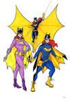 Batgirls By Bevismusson