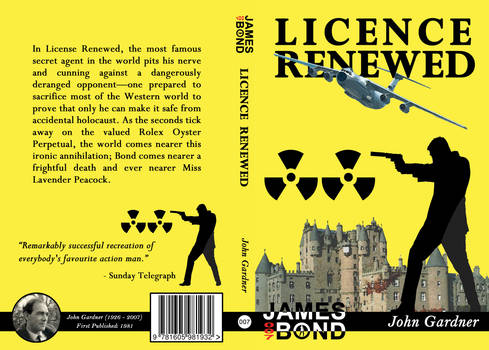 Licence Renewed Cover Design