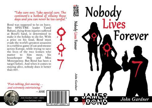 Nobody Lives Forever Cover Design