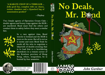 No Deals Mr Bond Cover Design by WedgeDoc