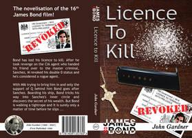 Licence to Kill Cover Design