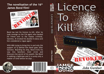 Licence to Kill Cover Design by WedgeDoc