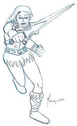 He-Man Advances Sketch