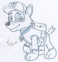 Rocky from Paw Patrol!