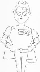 Teen Titans GO! Robin Sketch