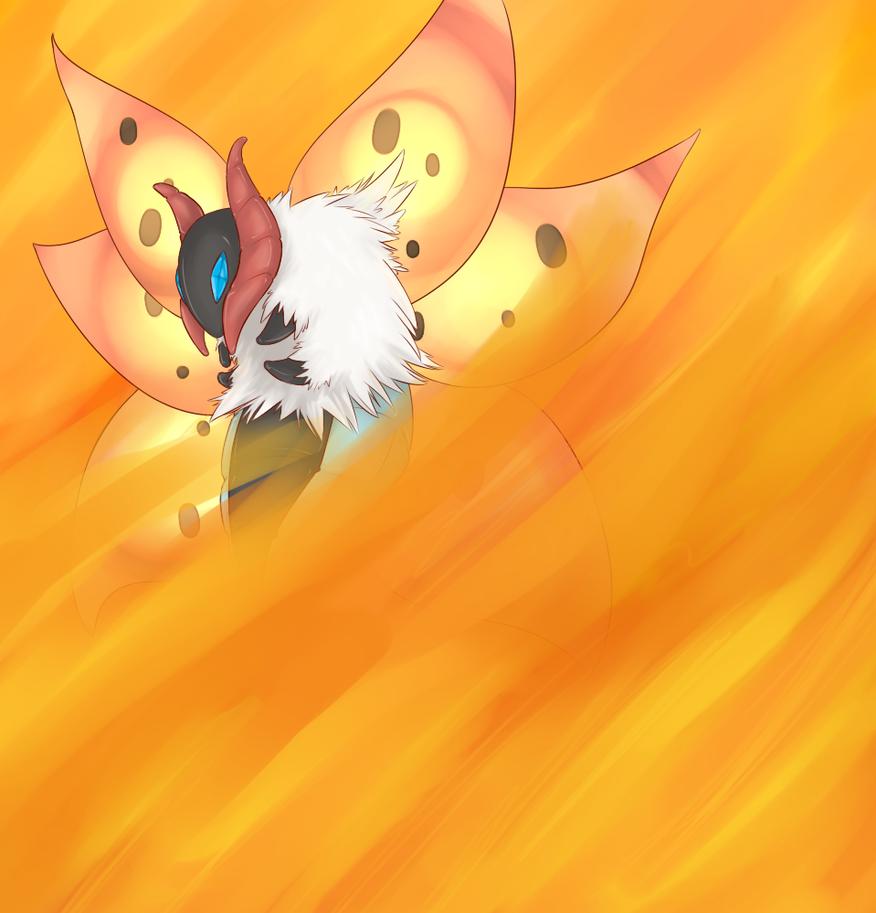 Volcarona used Fiery Dance by xIce-Wolf