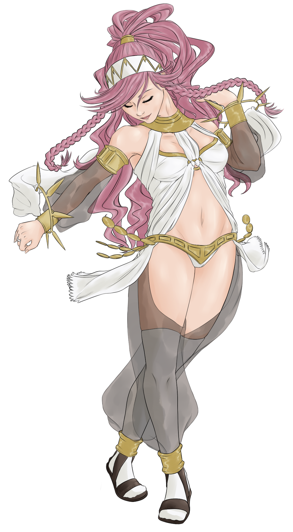 Fire Emblem - Olivia by xIce-Wolf