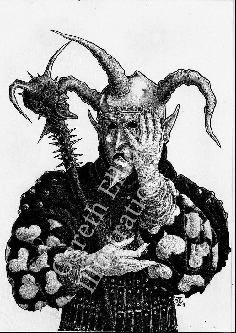 Deathjester1 by garethelliott