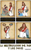 el pan y los peces by Juanka100