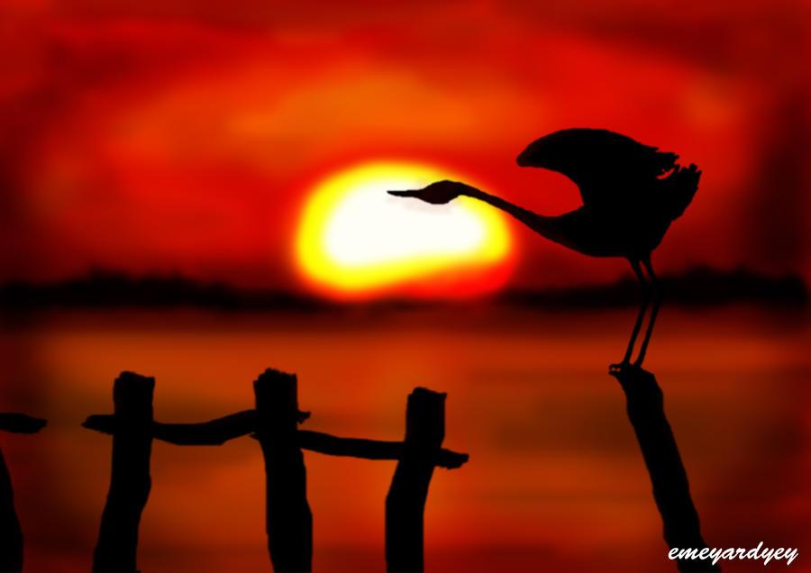 Sunset By Emeyardyey On DeviantArt