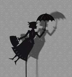 Mary Poppins - Shadow Puppet