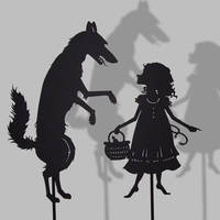 Little Red Riding Hood + Wolf by PaperTales