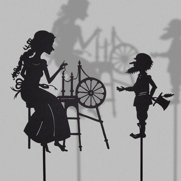 Rumpelstiltskin-Shadow Puppet by PaperTales