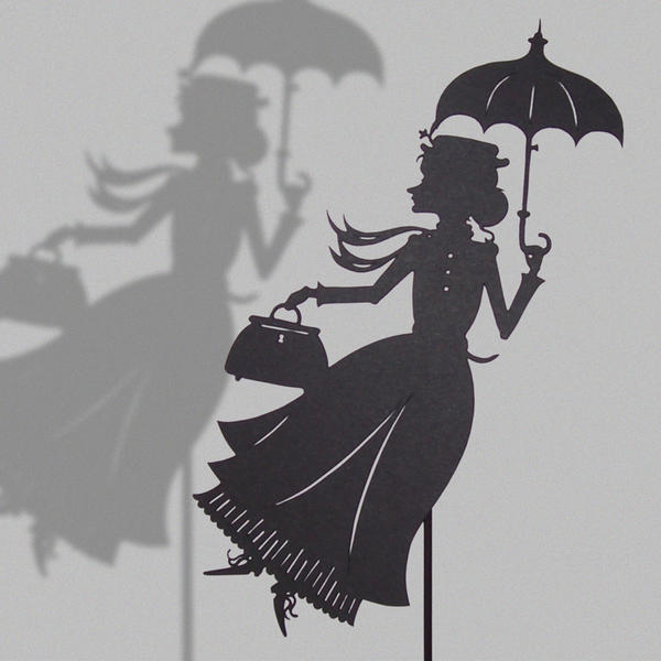 Mary Poppins version 2 by PaperTales