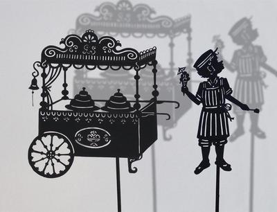 Icecream man / shadow puppet