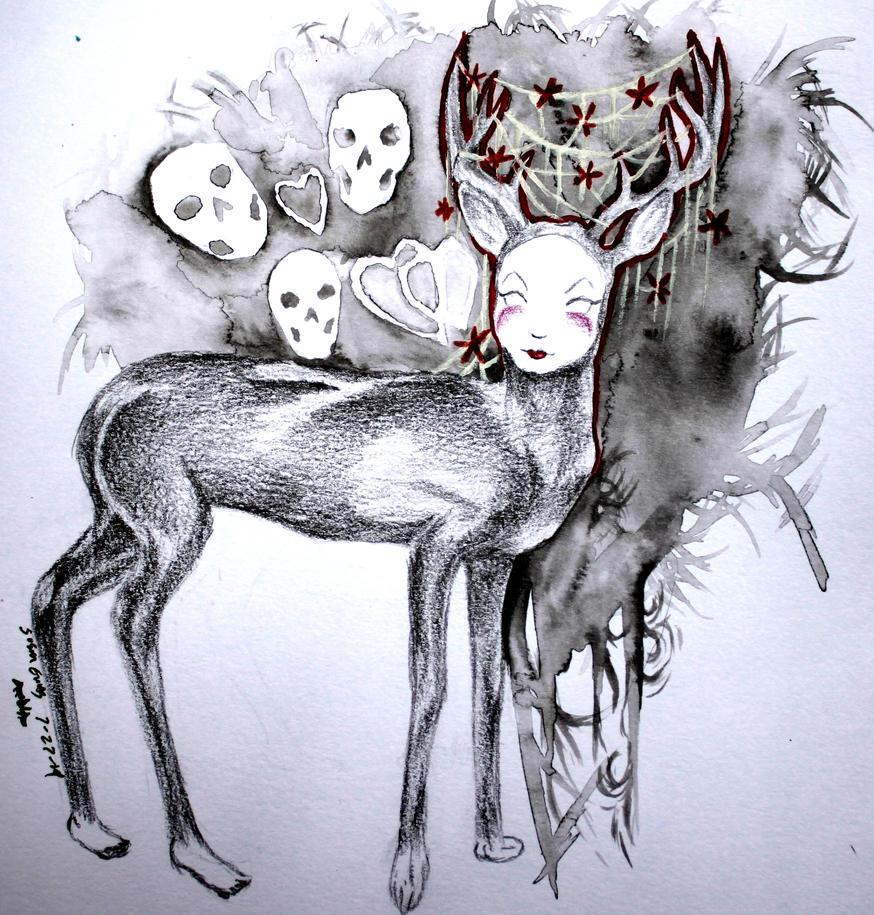 Oh Deer by Snevitts
