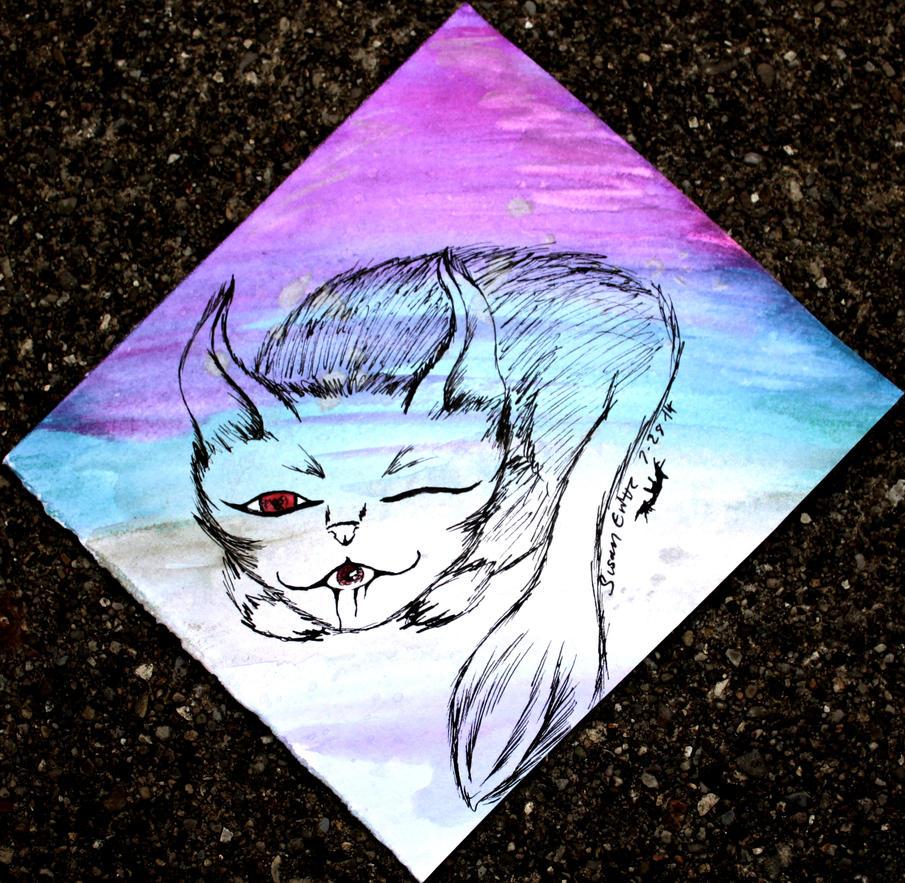 Evil cat by Snevitts