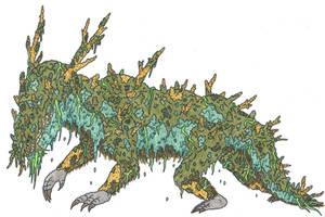 Mossy Sleeper by EvolutionsVoid