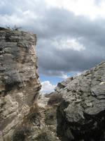 Restricted stock_Rock ledge by digital-amphetamine