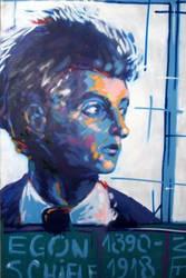 Egon Schiele by Ivle