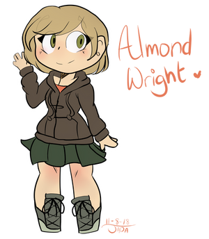 [AT] ~Almond Wright by j-ada