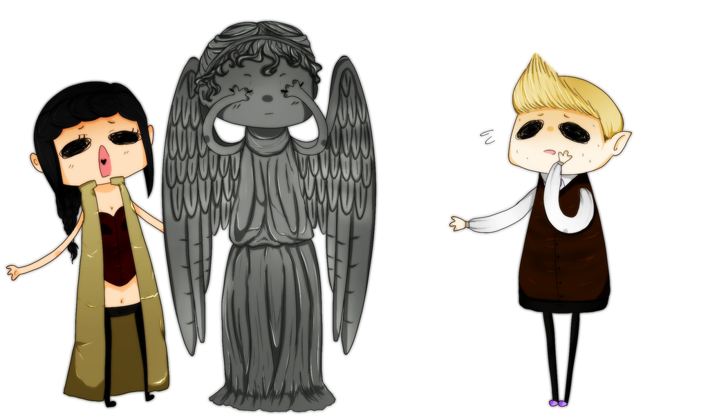 [DW] Weeping Angels by ValentineError on DeviantArt