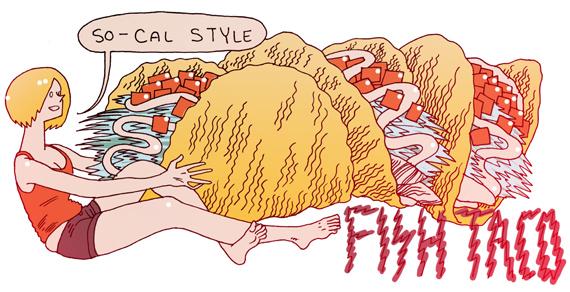 Fish Taco by auryn