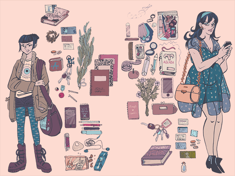 WITCHY INVENTORIES WALLPAPER by auryn
