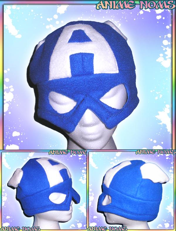 Captain America Hat by AnimeNomNoms