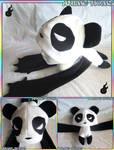 Panda Noms Plushie Hat