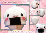 Blushy Onigiri Fleece Beanie Hat