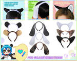More Headbands in Cat, Bunny and Bear