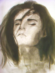 Megan Fox Watercolor