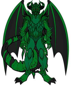 Mega Grim Dark Dragon