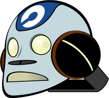 Robot Head by eyeblack