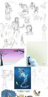 Sketchdump 6: Jul-Oct