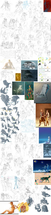 Apr-Aug Sketchdump pt 1