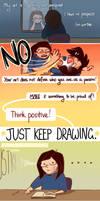 just keep drawing