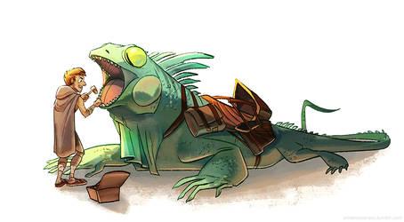 reptilian dentistry