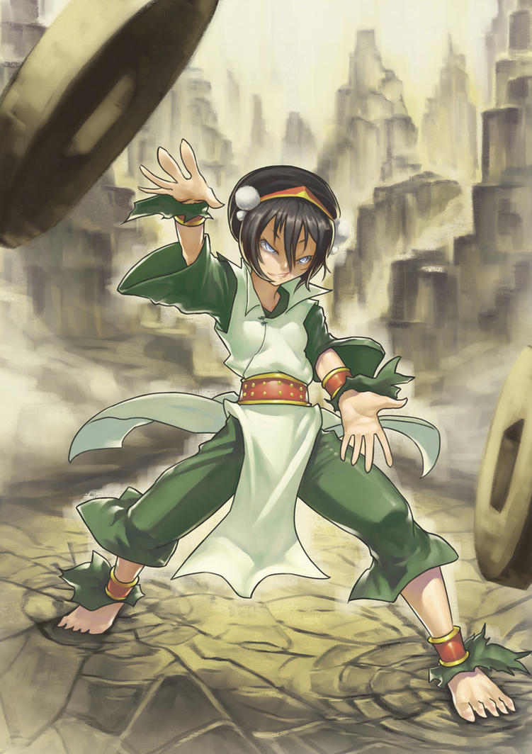 Something is. Aang e toph sexy image final