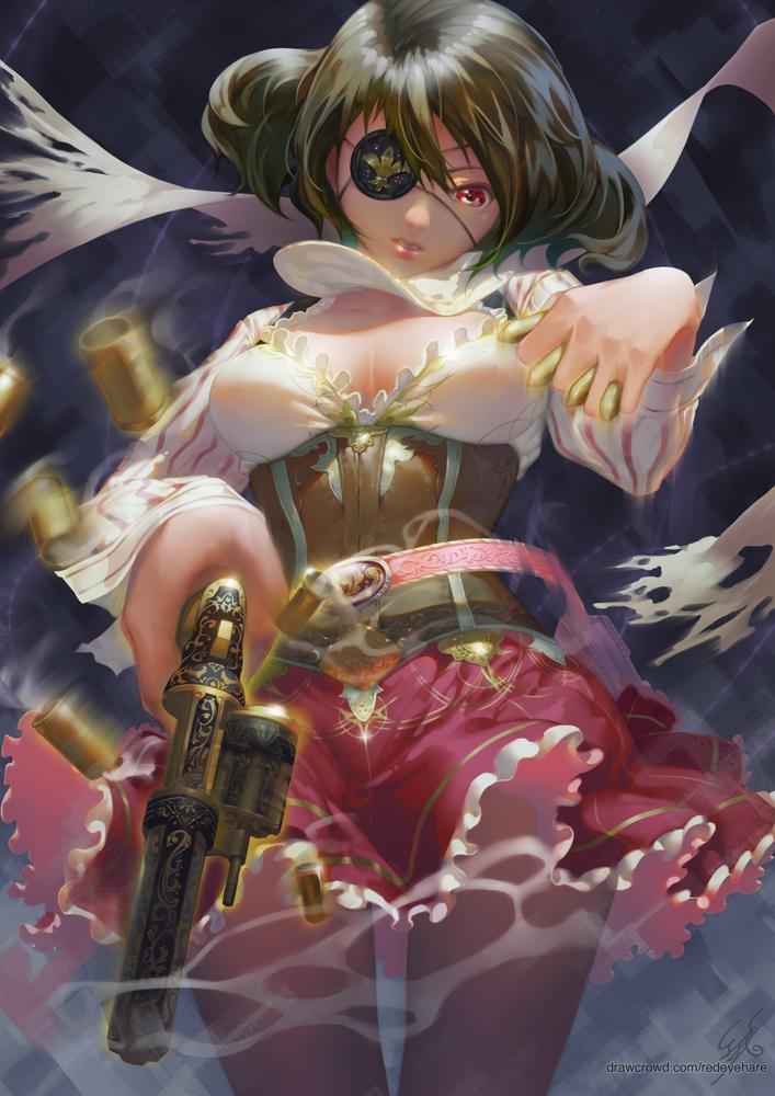 Gunslinger by redeyehare