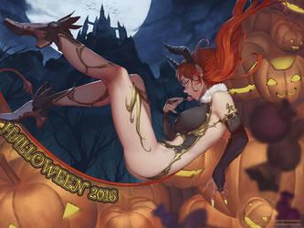 Halloween 2016 by redeyehare
