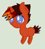 Fire Flare chibi by Kaitkat123