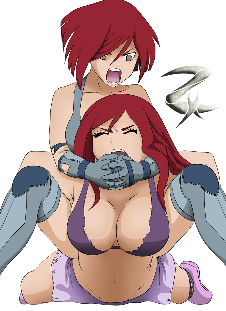 erza wrestling rework by zephixe1