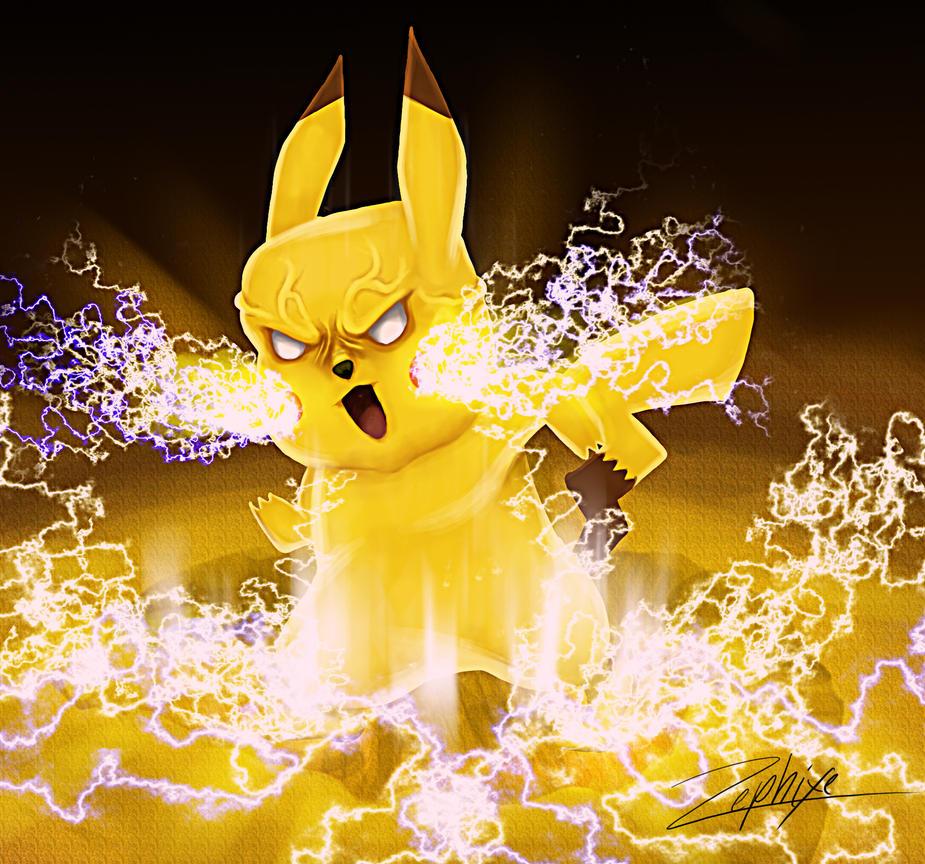 Pikachu's power by zephixe1