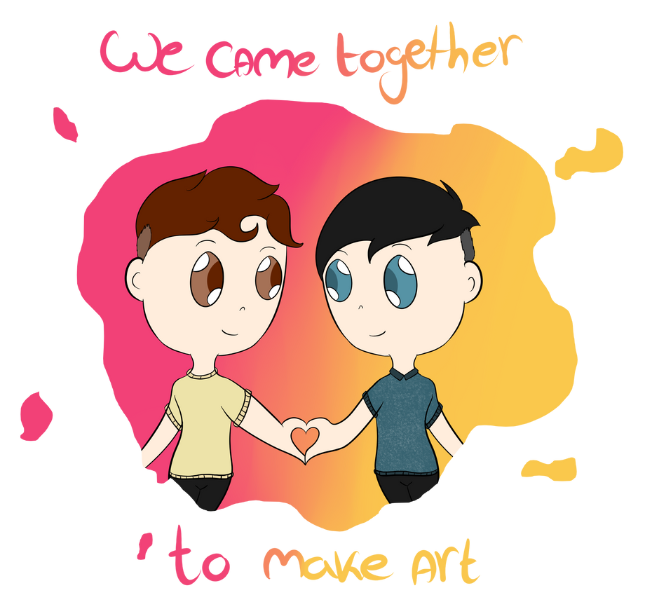 We came together to make art by kimberley1998